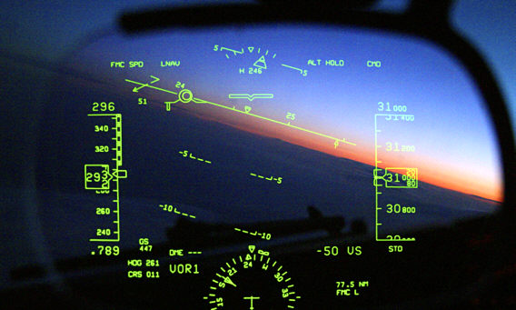Plane Head-up Display