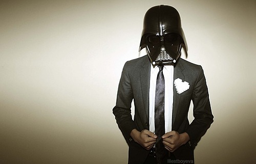 Darth Vader middle manager