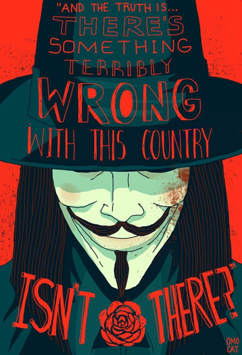 Guy Fawkes - Something wrong with this country