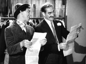 Groucho sanity clause